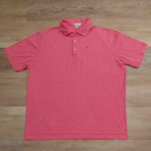Ballantyne Men's Striped 100% Cotton Polo Shirt